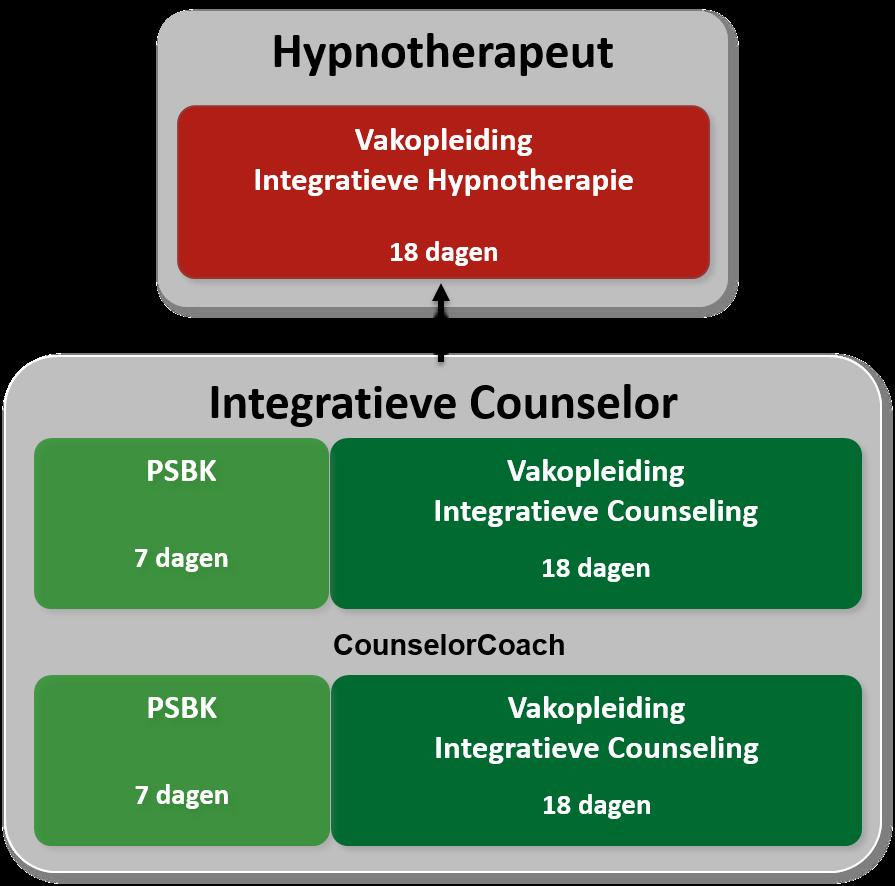 hypnotherapeut vakopleiding tot integratieve schema
