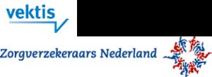Vektis zorgverzekeraars nederland logo